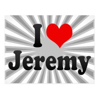 Postal Amo a Jeremy
