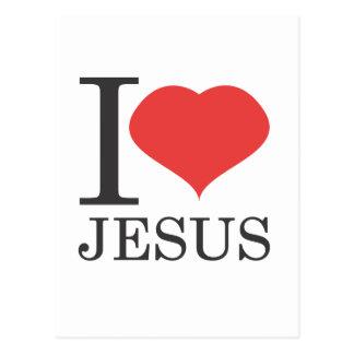 Postal Amo a JESÚS