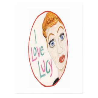 Postal Amo a Lucy