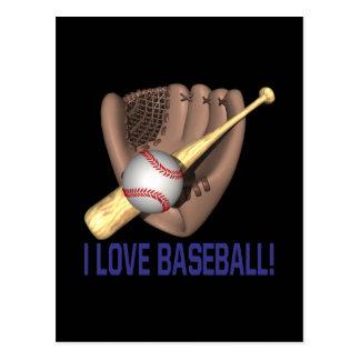 Postal Amo béisbol