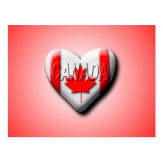 Postal Amo Canadá