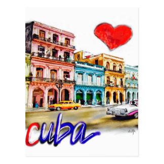 Postal Amo Cuba