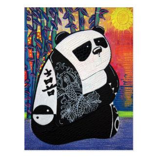 Postal Amo de zen de la panda