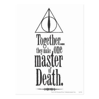 Postal Amo del encanto el | de Harry Potter de la muerte
