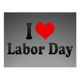 Postal Amo Día del Trabajo