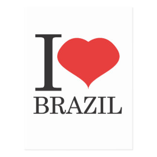 Postal amo el Brasil