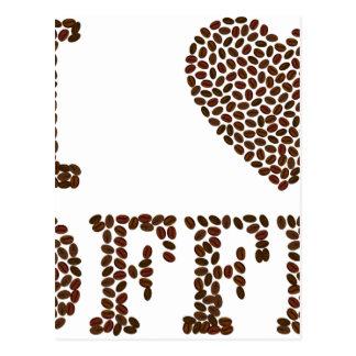 Postal Amo el café