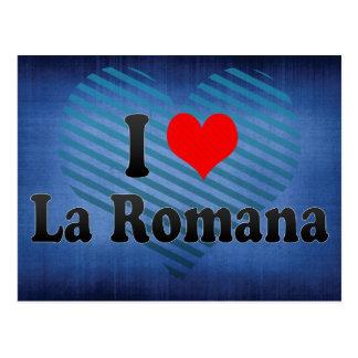 Postal Amo el La Romana, República Dominicana