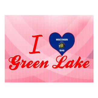 Postal Amo el lago verde, Wisconsin