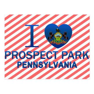 Postal Amo el parque de la perspectiva, PA