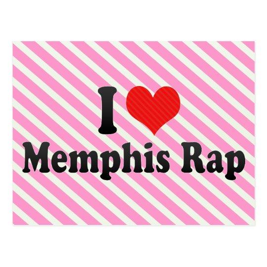 Postal Amo el rap de Memphis