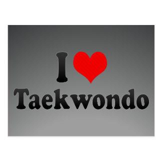 Postal Amo el Taekwondo