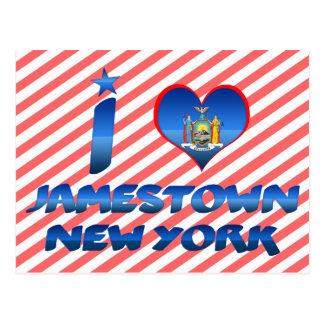 Postal Amo Jamestown, Nueva York