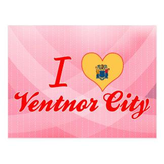 Postal Amo la ciudad de Ventnor, New Jersey