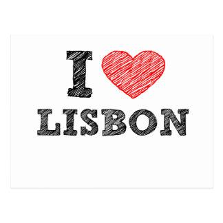 Postal Amo Lisboa