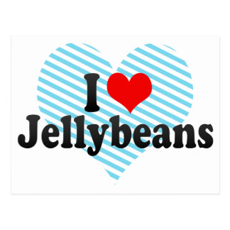 Postal Amo los Jellybeans