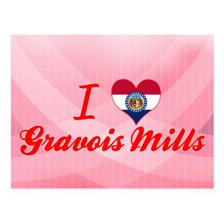 Postal Amo los molinos de Gravois, Missouri
