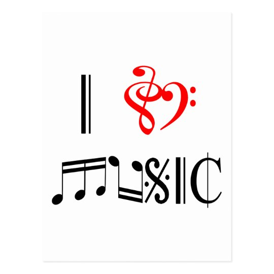 Postal Amo música