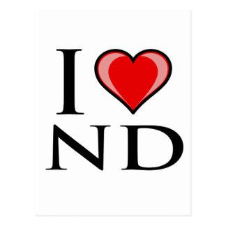 Postal Amo ND - Dakota del Norte