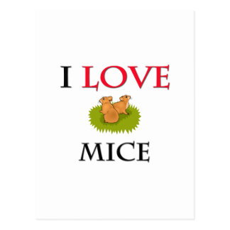Postal Amo ratones