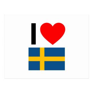 Postal amo Suecia