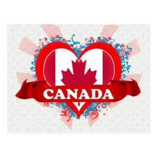 Postal Amor Canadá del vintage I
