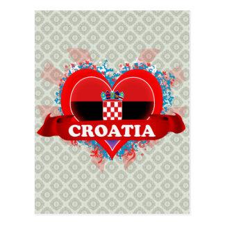 Postal Amor Croacia del vintage I