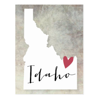 Postal Amor de Idaho