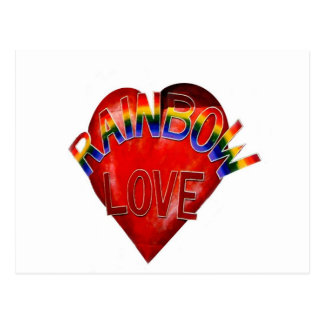 Postal Amor del arco iris