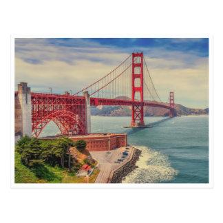 Postal Amor del Golden Gate
