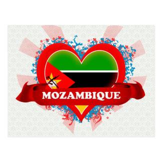 Postal Amor Mozambique del vintage I