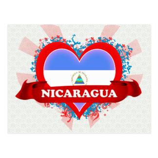 Postal Amor Nicaragua del vintage I