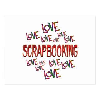 Postal Amor Scrapbooking del amor