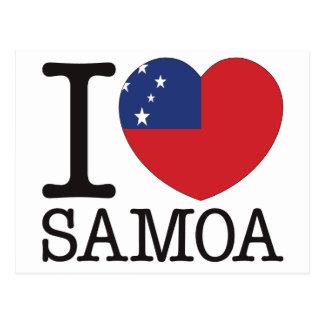 Postal Amor v2 de Samoa