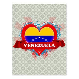Postal Amor Venezuela del vintage I