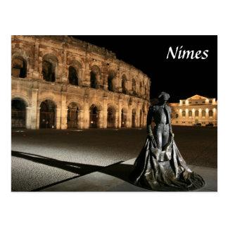 Postal Amphitheatre romano Nimes