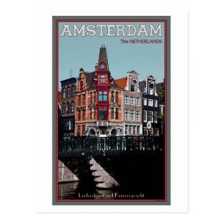 Postal Amsterdam - Leidsestraat - Keizersgracht