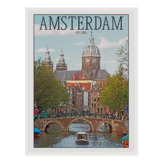Postal Amsterdam - Sint Nicolaaskerk