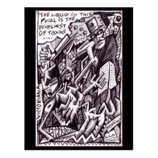 Postal Anarquista en grande de Brian Benson