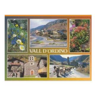 Postal Andorra, d'Ordino de Vall