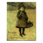 Postal Anillo Belces felices a través del Victorian de la
