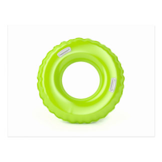 Postal Anillo verde de la nadada