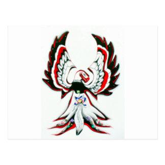 Postal Anishinaabe Thunderbird