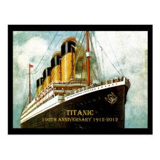 Postal Aniversario titánico del RMS 100o