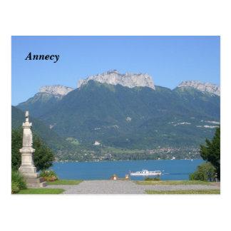 Postal Annecy -