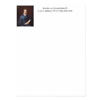 Postal Annette von Droste-Hulshoff 1838