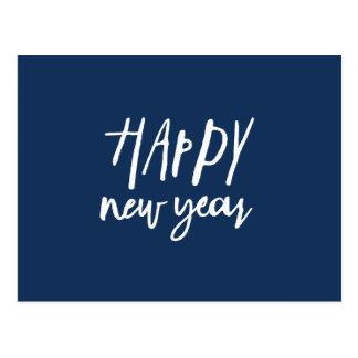 Postal Año Nuevo real
