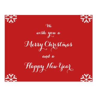 Postal Años Nuevos del navidad personalizados día de