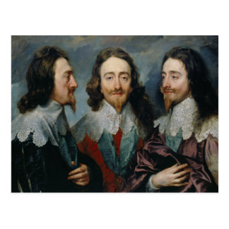 Postal Anthony van Dyck - Charles I (1600-49)
