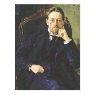 Postal Antón Chekhov 1898